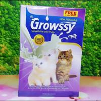 (1box isi 11 sachet ) Susu Growsy Baby Cat Milk Susu Bayi Kucing