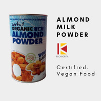Susu Almond Bubuk / Earth Living Organic Almond Powder Original 500gr