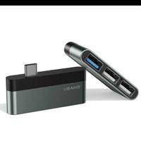 Converter Type C mini Hub-USB Hub USAMS US-SJ461 original