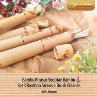 Bambu untuk Sedotan Bambu