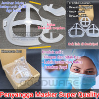 Penyangga Masker Mask Bracket support penahan anti pengap medis N95
