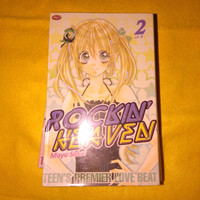Komik Remaja Bekas Murah Mayu Sakai Rockin Heaven 2 3 4 5 6 7 8 - Vol. 2