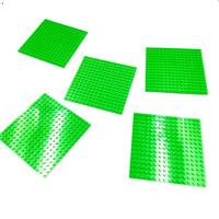 Lego Parts Plate 16 x 16 Bright Green Original