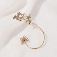 anting 1 sisi kupu kupu wild butterfly earrings jan211