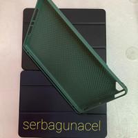 Smart Case Ipad Air 1 2 Ipad 5 dan 6 9.7inch Silikon Slot Pen Pencil - Biru