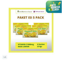 vitamin c sido muncul c1000 paket 5x6