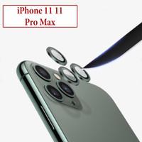 iPhone 11 11 Pro Max Anti Gores Screen Protector Back Camera Aluminium