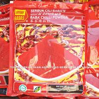 Babas Chili Powder Bubuk Cabe 250 gr / Serbuk Cabe Malaysia