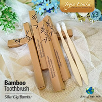 Sikat Gigi Bambu Ramah Lingkungan