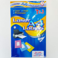 Label Tom & Jerry Laser Labels Sticker A4