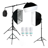 PAKET LENGKAP FOTOGRAFI FOTO STUDIO LIGHTING KIT YOUTUBE VLOG PODCAST