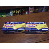 Keju DIAMOND Cheese Cheddar 180 Gr