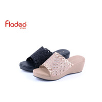 Fladeo I20/LDH304-1RA/Sandal For Ladies [ Wedges Style ]
