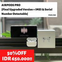 Airpods Pro Wireless Charging Case (IMEI & Serial Number Detectable)