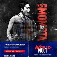 Raket Badminton YONEX NEW ASTROX 99 NEW COLOUR(BLUE)+grip TAS ORIGINAL