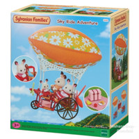 Sylvanian Family Mainan Sepeda Terbang Skyride Adventure Balon Udara