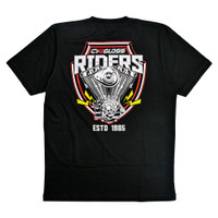 T-shirt Cargloss Riders Limited Edition - Black