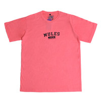 "KAOS MULES-""LOCAL TGFM PINKY""- PINK T-SHIRT"