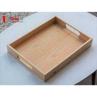 Nampan Kayu wood tray natural untuk restoran cafe hotel
