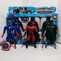 Action Figure Superhero isi 3