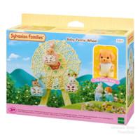 Sylvanian Families Baby Ferris Wheel Bianglala dapat 1 Boneka
