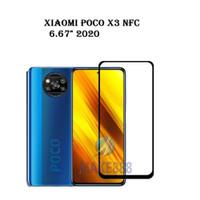 TEMPERED GLASS 5D XIAOMI POCO X3 NFC FULL LEM anti gores full cover