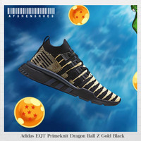 Sepatu Original Adidas NMD Primeknit Dragon Ball Z Gold Black BNIB
