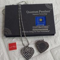 Kalung Kesehatan Quantum Pendant Motif Love Permata New