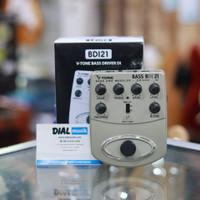 Behringer BDI21 V-Tone Bass Drive DI Pedal - Efek Gitar Murah Original