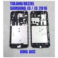 FRAME DUDUKAN TULANG TENGAH LCD SAMSUNG GALAXY J3 2016 J320 ORIGINAL