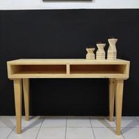 Meja Konsul Minimalis Kayu Jati Belanda/Pinus Furniture Lokal Murah