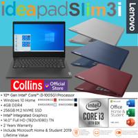 LENOVO IDEAPAD SLIM 3i 14IIL05 i3-1005G1 4GB 256GB 14 FHD UHD W10 OHS