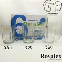 Gelas Royalex FM 255 / 300 / 360 TP Tampered Kedaung - FM 255 TP 240ml
