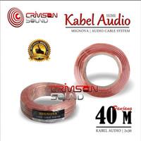Kabel Audio Mignova 2 X 30 1 Roll 40 Meter Kabel Speaker