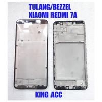 FRAME DUDUKAN TULANG TENGAH LCD XIAOMI REDMI 7A ORIGINAL