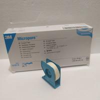 MICROPORE 1/2 Inchi/P3k plaster luka/ 3 M, Mikropore