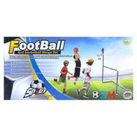 Mainan Sepak Bola - Basket - Panahan Darts 3in1 Football Set