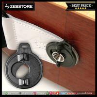 Pengunci Strap Sabuk Gitar Locks Dunlop 7036 Black