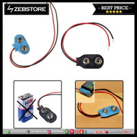 Tutup Kancing Kabel Klip Konektor Terminal Baterai Battery 9v
