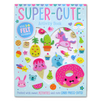Super Cute Activity Book With 3-D Felt Stickers! (Packed With Sweet Ac