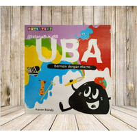 Buku Imajinasi Menggambar Mewarnai Bersama UBA bermain dengan warna