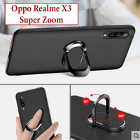 Oppo Realme X3 super Zoom Softcase Soft Case Casing Silicone With Ring