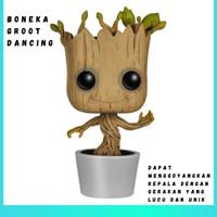 Boneka GROOT Dancing Funko POP! Marvel Guardians of the Galaxy Pot