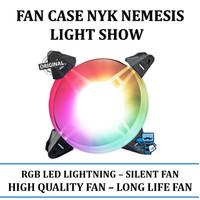 Fan case NYK Nemesis Lightshow 12cm - High quality fan