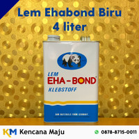 Lem Kuning Ehabond Biru - Galon (Busa, Plastik, Sepatu, Triplek, dll)