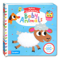 My First Touch and Find Baby Animals Board Book With Big Flaps