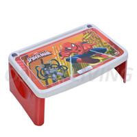 Lap Desk Napolly / Meja Lipat Anak Karakter - Spiderman