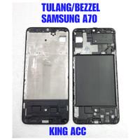 FRAME DUDUKAN TULANG TENGAH LCD SAMSUNG GALAXY A70 A705 A705F ORIGINAL