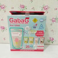 Gabag Kantong Asi - Breastmilk Storage 120 ML 30 Pcs Mix Desain Rasa