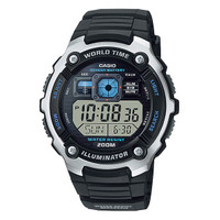 Jam Tangan Pria Casio AE-2000W-1AVDF Black Illuminator Digital Rubber